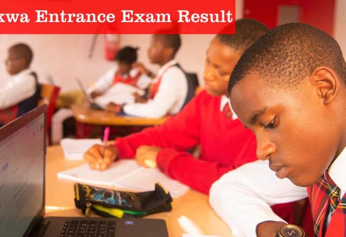 Akwa Entrance Exam Result